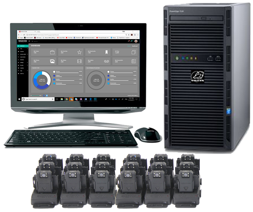 USB Charges & Syncs HUB on Police Body-worn Cameras Data Acquisition and Bitcoin Mining Hardware