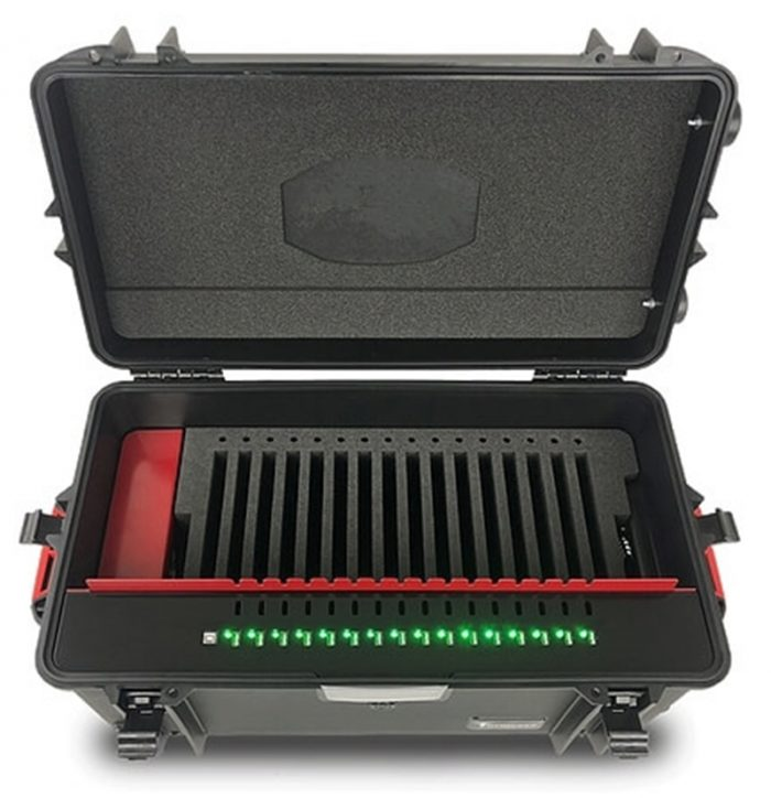 mobile charging cabinet 16 ports