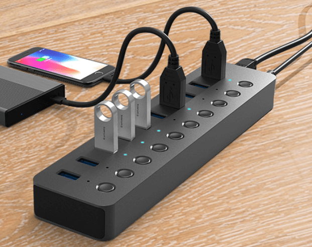 12. Ladagogo Powered USB HUB / Multi-ports USB Charger Manufacturer &Supplier in China